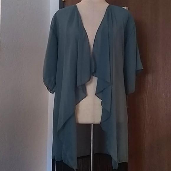 NWT LuLaRoe Monroe kimono coverup